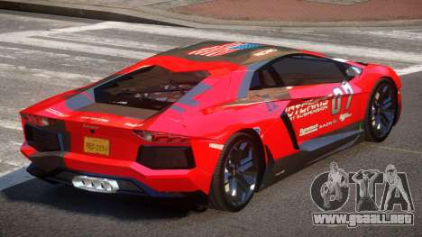 Lamborghini Aventador LP700-4 GS PJ6 para GTA 4
