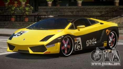 Lamborghini Gallardo LP560 MR PJ6 para GTA 4