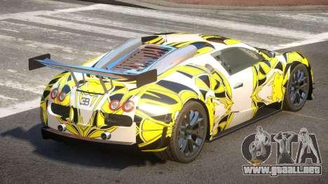 Bugatti Veyron SR 16.4 PJ1 para GTA 4