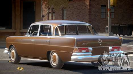 Mercedes Benz W111 V1.0 para GTA 4