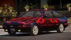 Toyota Corolla AE85 GT PJ1 para GTA 4