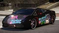 Lamborghini Gallardo LP560 MR PJ4 para GTA 4