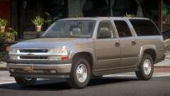 Chevrolet Suburban Spec
