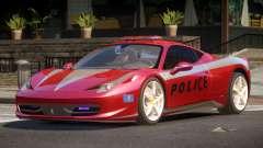 Ferrari 458 TR Police para GTA 4