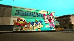 Unikitty Wall HD (San Fierro) para GTA San Andreas