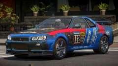 Nissan Skyline R34 GT-Style PJ1 para GTA 4