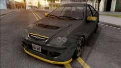 Proton Persona Black Yellow para GTA San Andreas