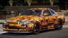 Nissan Skyline R34 SL PJ5 para GTA 4