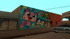 Unikitty Wall para GTA San Andreas