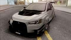 Mitsubishi Lancer Evolution X 2008 Varis para GTA San Andreas