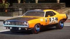 1969 Plymouth Cuda GT PJ3 para GTA 4
