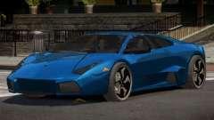Lamborghini Reventon E-Style para GTA 4