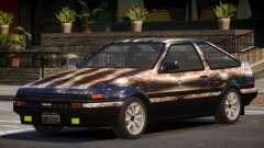 Toyota Corolla AE85 GT PJ2 para GTA 4