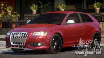 Audi S3 RS para GTA 4