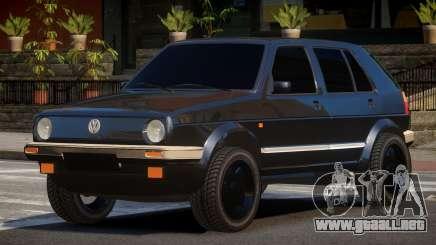 Volkswagen Golf 2 TR para GTA 4