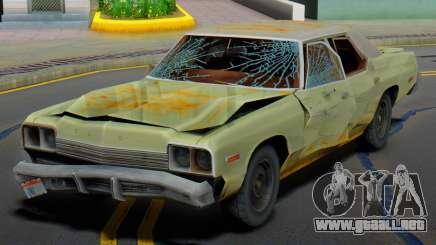 Dodge Monaco 1974 (Rusty) para GTA San Andreas