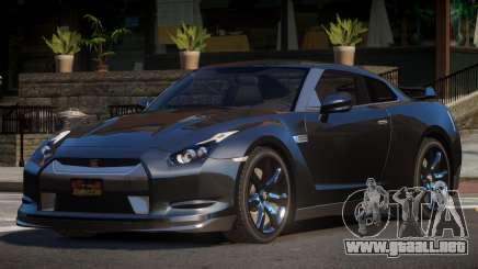 Nissan GTR M-Sport para GTA 4