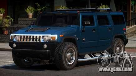 Hummer H2 GST para GTA 4