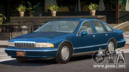 Chevrolet Caprice ML para GTA 4