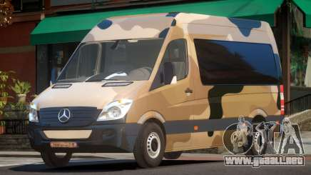 Mercedes Benz Sprinter MR PJ3 para GTA 4