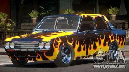 1972 Datsun Bluebird 510 PJ3 para GTA 4