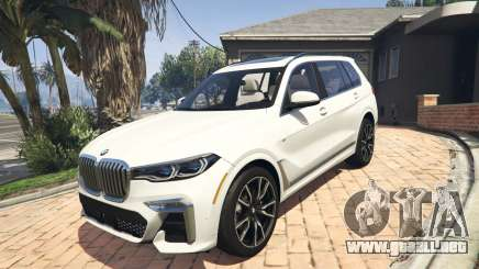 2020 BMW X7 Tuning v.1.0 [Add-On] para GTA 5