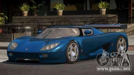Koenigsegg CCGT TR para GTA 4