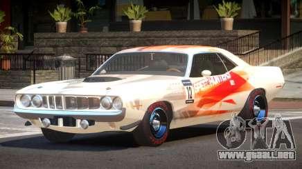 1969 Plymouth Cuda GT PJ2 para GTA 4