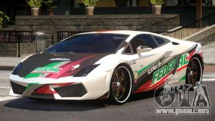 Lamborghini Gallardo LP560 MR PJ5 para GTA 4