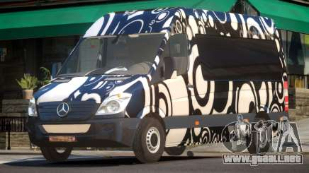 Mercedes Benz Sprinter MR PJ4 para GTA 4