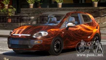 Fiat Punto TR PJ1 para GTA 4