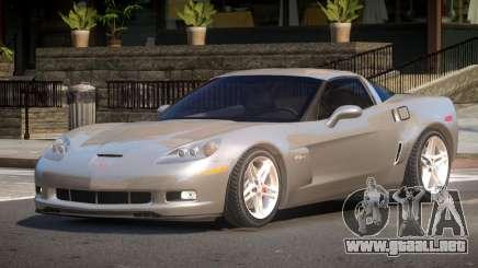 Chevrolet Corvette Z06 RT para GTA 4