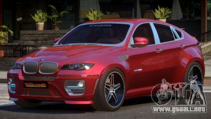 BMW X6 G-Tuned para GTA 4