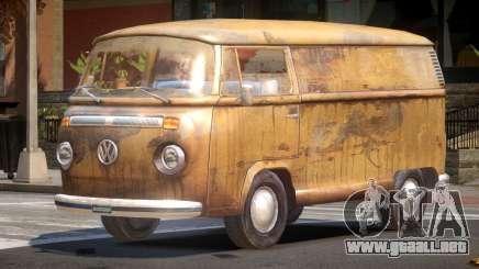 Volkswagen Transporter T2 Rusty para GTA 4