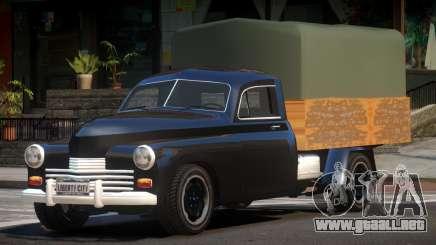 1976 GAZ M20 para GTA 4