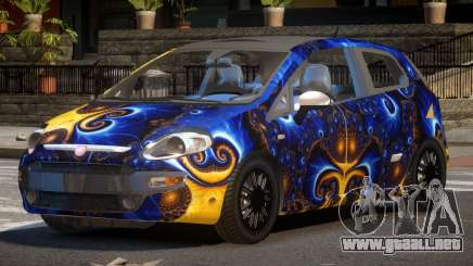 Fiat Punto TR PJ3 para GTA 4