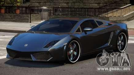 Lamborghini Gallardo LP560 MR para GTA 4