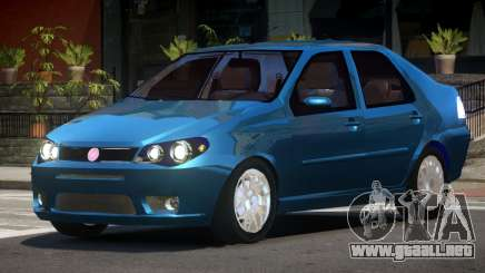 Fiat Albea V1.0 para GTA 4