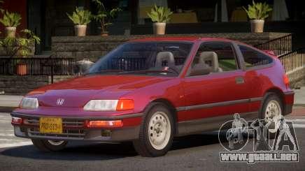 1994 Honda CRX V1.2 para GTA 4