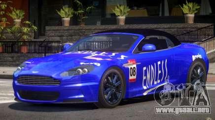Aston Martin DBS Volante SR PJ6 para GTA 4