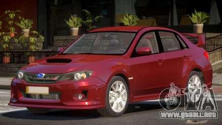 Subaru Impreza WRX S-Tuning para GTA 4