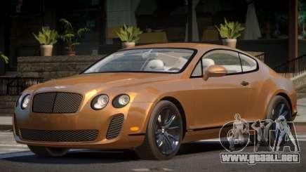 Bentley Continental MS para GTA 4