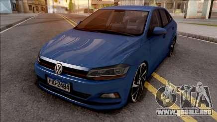 Volkswagen Virtus 2019 para GTA San Andreas