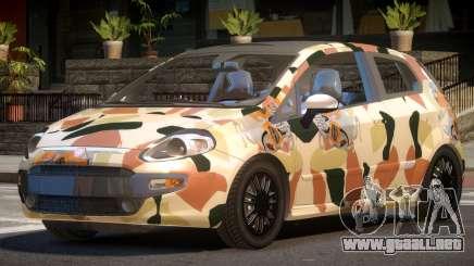 Fiat Punto TR PJ6 para GTA 4