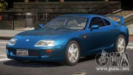 Toyota Supra G-Style para GTA 4
