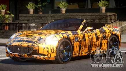 Ferrari California SR PJ5 para GTA 4