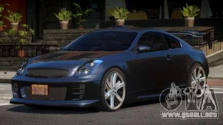 Infiniti G35 R-Tuning para GTA 4
