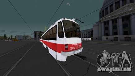 Tranvía 71-405 para GTA San Andreas