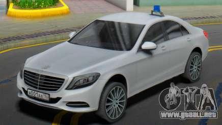 Mercedes-Benz S500 W222 ELS para GTA San Andreas