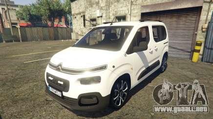2019 Citroen Berlingo v3.0 para GTA 5